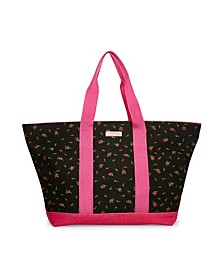 Forbidden Fruit Canvas Large Tote