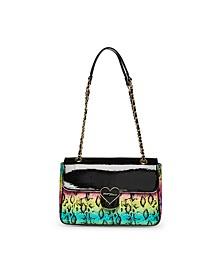 Rainbow Snake Flap Bag
