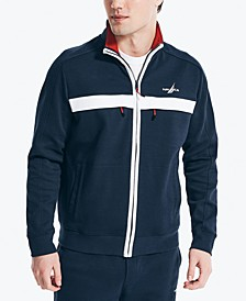 Men's Chest Stripe Knit Jacket