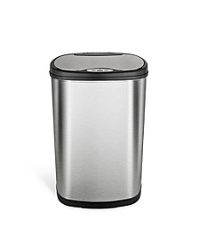 Rectangular Motion Sensor Trash Can, 13.2 Gallon