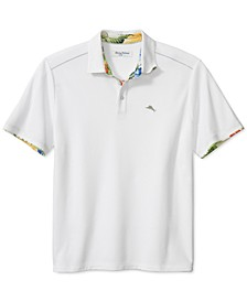 Men's 5 O'Clock Canopy Kaleidoscope Moisture-Wicking Polo Shirt
