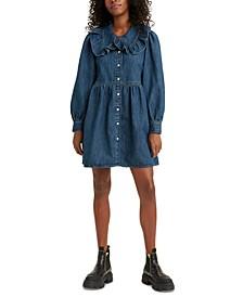 Mira Cotton Denim Dress