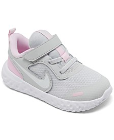 Toddler Girls Revolution 5 Stay-Put Running Sneakers from Finish Line