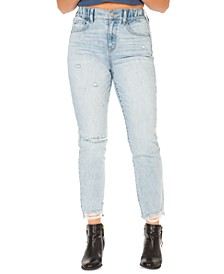 Juniors' Super High-Rise Mom Jeans
