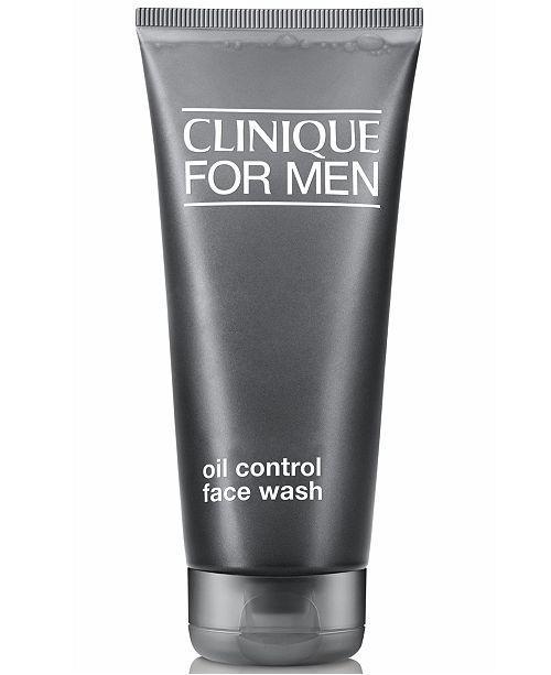 Clinique For Men Oil Free Face Wash, 6.7 oz