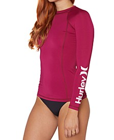 Juniors' One And Only Long-Sleeve Rash Guard