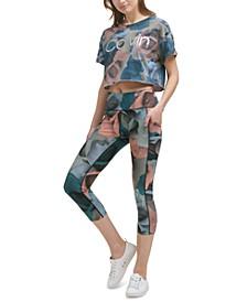 Printed Cropped Leggings