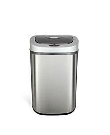 Rectangular Motion Sensor Trash Can, 21.1 Gallon