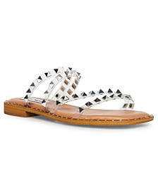 Women's Skylar Studded Strappy Slide Sandals