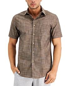 Men's Monlasio Textured Shirt, Created for Macy's