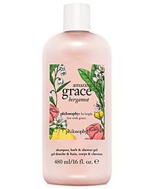 Amazing Grace Bergamot Shampoo, Bath & Shower Gel