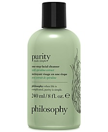 Purity Made Simple One-Step Facial Cleanser With Spirulina Extract