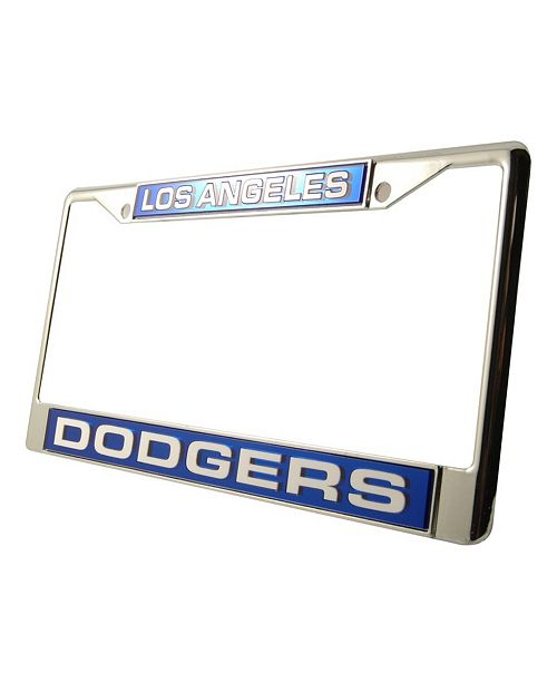 Rico Industries Los Angeles Dodgers Laser License Plate Frame