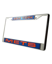Rico Industries New York Mets Laser License Plate Frame