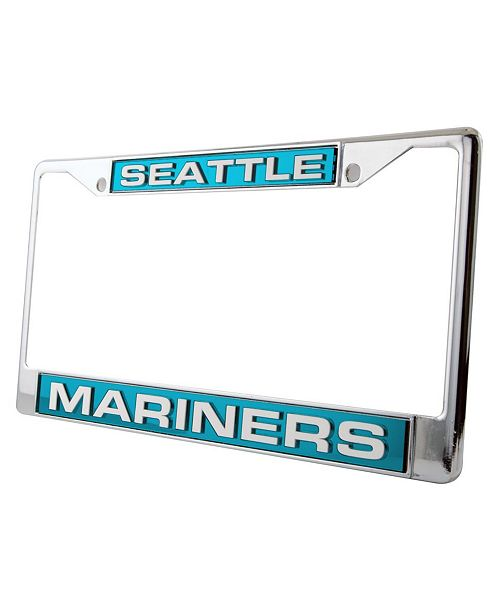 Rico Industries Seattle Mariners Laser License Plate Frame - Sports ...