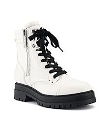 Women's Prinze Lug Sole Boots