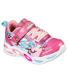 Toddler Girls Shimmer Beams Fun time Dr. Seuss With Things Running Sneakers from Finish Line