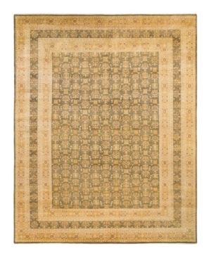 """Adorn Hand Woven Rugs Mogul M1399 9'4"""" X 12'2"""" Area Rug In Olive"""