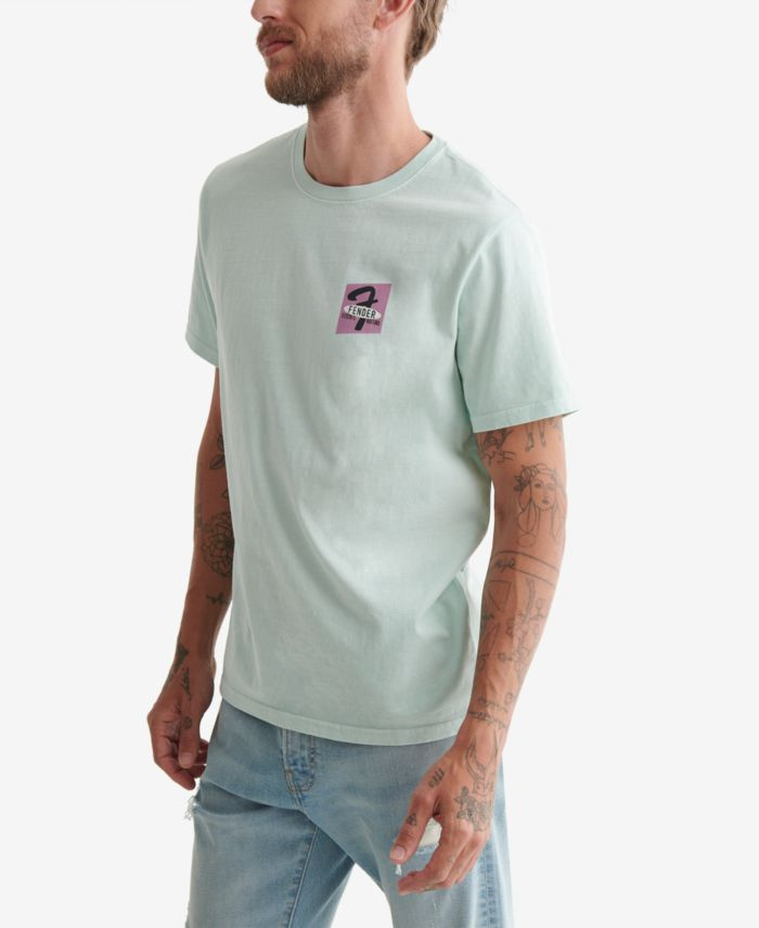 Lucky Brand Men's Fender Tee & Reviews - T-Shirts - Men - Macy's