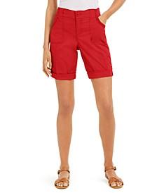 Roll-Tab Bermuda Shorts, Created for Macy's