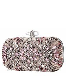 Women's Crystal Embellished Minaudiere