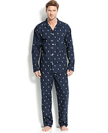 Polo Ralph Lauren Men's All Over Polo Player Pajamas
