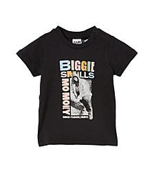 Baby Boys Jamie Short Sleeve Biggie Smalls License T-Shirt