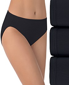 Women's 3-Pk. Vanity Fair Illumination Hi-Cut Brief Underwear 13307