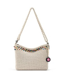 Women's Casual Classics Crochet 3 in 1 Demi Bag