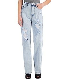 Juniors' 90s Wide Leg Jeans