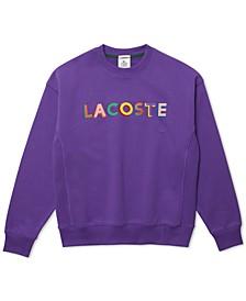L!VE Loose-Fit Embroidered Fleece Sweatshirt