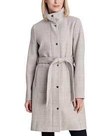 Petite Belted Coat, Created for Macy's