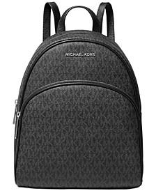 Abbey Medium Signature Backpack