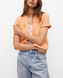 Women's Cotton-Blend Cardigan