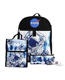 Kids Nasa 6 Piece Backpack Set
