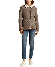 Houndstooth Quilted Jacket