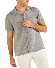 Men's Eco Linen Camp Shirt