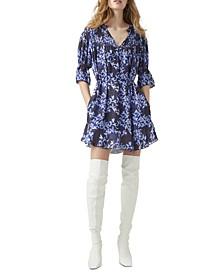 Dionne Floral-Print Dress