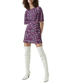 Bethany Verona Cutout Fit & Flare Dress