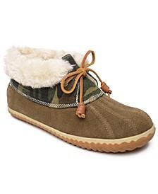 Women's Duck Bootie Slippers