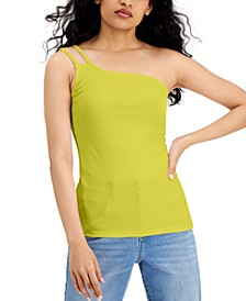 INC One-Shoulder Tank Top, Created for Macy's