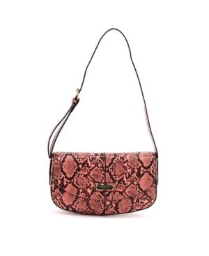 Women's Astor Python Shoulder Bag