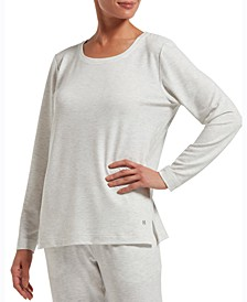 Solid Long Sleeve Lounge T-Shirt