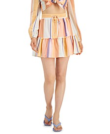 Striped Mini Skirt, Created for Macy's