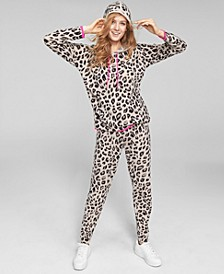 Cheetah-Print Hoodie & Joggers, Created for Macy's