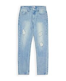 Big Boys Light Destroy Denim Jeans, Created for Macy's
