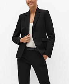 Women's Fitted Essential Blazer