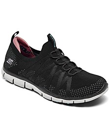Women's Gratis Chic Newness Wide Width Walking Sneakers from Finish Line