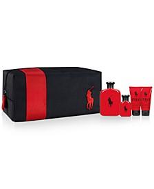 Men's 5-Pc. Polo Red Eau de Toilette Gift Set