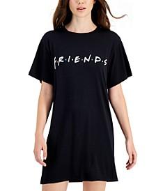 Juniors' Friends Short-Sleeve Tunic Dress